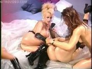 Two Blondes, Two Brunettes and a whole lot of dildos!