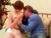 Cute young teen first time virgin defloration