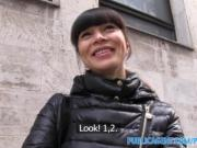 PublicAgent hot Asian babe fucks stranger for money