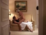 European babe having sex with her husband
