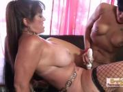 Lesbian Babes Sydnee and Mahina Fuck