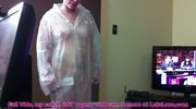 Lelu Love-Raincoat Rubber Gloves Blowjob