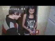 Shares his hot brunette girlfriend for cash