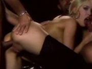 The sexy elegant Blue Angel in a modeling threesome