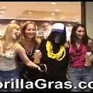 Hot College Girls At Mardi Gras Sing For King Shlong