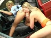 Hot Sluts Park Their Asses Outside