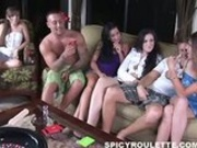 huge group sex party with eight amateurs