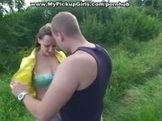 Boys film porn pov with hot pick up girls