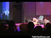 Lucky guy getting a lap dance of a life time