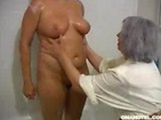 Granny likes to massage