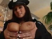Kate Jones is Officer naughty