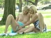 A nice walk in the park with lesbians in public