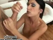 Pornstar Babe Sucking A Big Cock