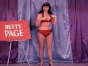 A Burlesque Dance With Betty Page