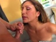 Sammy Cruz gets her tiny pussy stretched