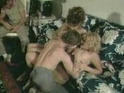 Christy Canyon and Barbie Dahl Blow and Fuck A Guy