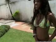 Amanda is real hot in this bikini