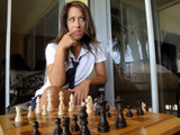 School Girl Loses Game in Chess&must Reward the Winner..