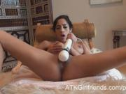 You fuck Chloe Amour after a POV date and cum on her toes
