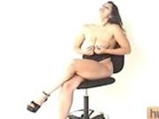Nikki pussy plays and cocksucks