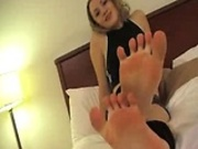 Sweaty Footjob