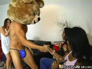 Crazy Drunk Chicks Give Public Blowjobs At Party