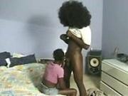 Afro dude fucks a nubile ebony