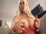 Candy Masons titties bounce all over while shes fucked