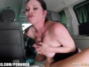 Brazzers - Milf gets fucked in her minivan