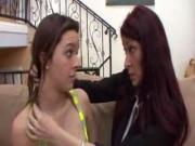 step daugher get licked by mum