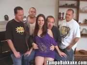 18 year old Teen Slut Bukkake Gang Bang