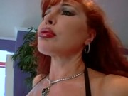 Latina milf fucks and gets anal from a black guy.