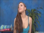 Girl wants it bad at her massage