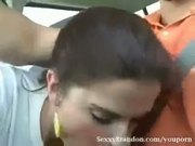 Sexy Sophia Driving BJ
