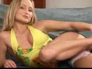 Hot teen blonde is such a tease