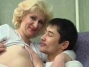 Mature Russian Mom Fucks Son's Friend
