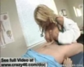 Doctor Belle fucks her patients big dick