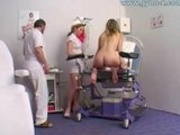 Gyno Exam For Busty Girl At Gyno Clinic