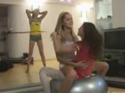 Tight blonde teen wannabe sexstar compilation