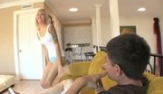 Emma Mae fucked on the couch