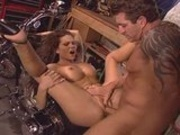 Ana Nova Gets Nailed On Her Bike