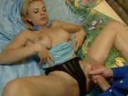 Elegant babe fucked after ball