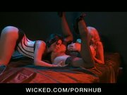 PUSSY LICKING LESBIAN BABES IN STOCKINGS HAVE PARTY