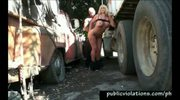 Truck Stop Banging Milf
