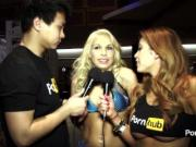 PornhubTV Carmen Caliente Interview at 2015 AVN Awards