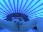 Tanning booth hidden camera