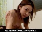 Teen hottie Arisa Sugano is with her boyfriend kissing and toying