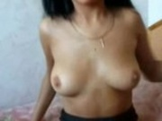 Russian Olga Shows Off