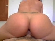 White girl rides a dick