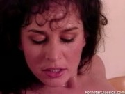 Eating classic porn pussy